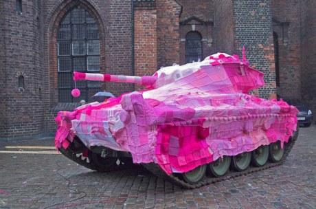 Pink Tank by Marianne Joergensen